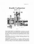 Zenith Carburetor Model T4X