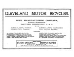 Cleveland Motor Bicycles Brochure - 1904