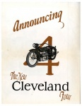 Announcing The New Cleveland Four Pamphlet - 1926