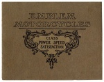 1912 Emblem Motorcycles Brochure