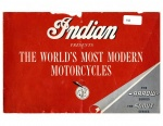 [Indian] [1949] Indian Presents the Worlds Most Modern Motorcycles - Arrow & Scout (Brochure)