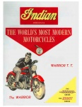 [Indian] [1949] Indian Presents the Worlds Most Modern Motorcycles - Warrior Scout Arrow (Brochure)