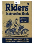 [Indian] [1949] Indian Riders Instruction Book for Arrow & Scout