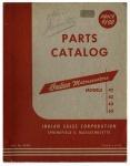 [Indian] [1949] Parts Catalog Indian Motorscooters Models 42, 62, 43, 63 - 1949