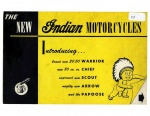 [Indian] [1951] The New Indian Motorcycles (Brochure)