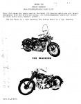 [Indian] [1951] Warrior Model 250 Non-Interchangeable Parts List (Part # 1,675005)