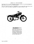 [Indian] [1951] Warrior T.T. Model 251 Parts Supplement (Part # 1,675006)
