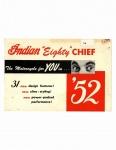 "[Indian] [1952] Indian 1952 ""Eighty"" Chief (Brochure)"