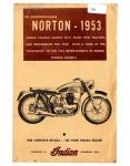Indian 1953 Norton (Brochure)