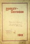 1911 Harley-Davidson Motorcycle Sales Brochure