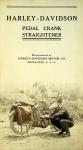 1912 Harley-Davidson Pedal Crank Straightener Leaflet