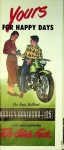 """Harley-Davidson """"Yours for Happy Days"""" Pamphlet"""