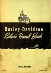 Harley-Davidson Riders Hand Book - Single Cylinder