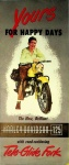 """Harley-Davidson """"Yours for Happy Days"""" Brochure"""