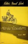 Harley-Davidson Riders Hand Book Model 165 (1960)