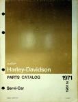 Harley-Davidson Parts Catalog Servi-car (1961-1973)