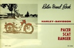 Harley-Davidson Rider Hand Book: Pacer, Scat, Ranger