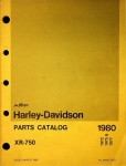 Harley-Davidson Parts Catalog XR-750 (AMF)