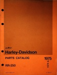 Harley-Davidson Parts Catalog RR-250
