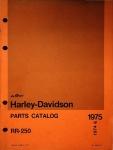 Harley-Davidson Parts Catalog RR-250