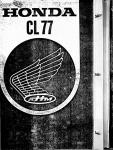 Honda Parts Catalog CL77 (1969)