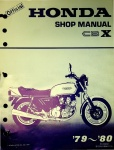 Official Honda Shop Manual CBX (1979-1980)
