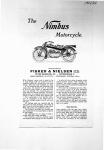 Nimbus 1921-1922 Sales Brochure