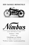 Nimbus 1924 Sales Pamphlet