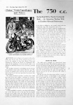 The Motor Cycle - August 17, 1939: Nimbus Road Test (English)