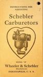 Instructions for Adjusting Schebler Carburetors Model H