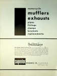 Superior Accessory Company 1952 Motorcycle Mufflers and Exhausts Catalog