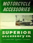 Superior Accessory Company 1955 Motorcycle Accessories Catalog