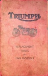 Triumph Replacement Parts for 1949 Models