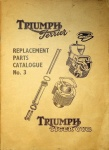 Triumph Terrier and Tiger Cub 1956 Replacement Parts Catalog No. 3