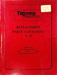Triumph 1965 Tiger Cub Replacement Parts Catalog No. 9