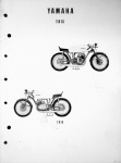 Yamaha 1967 TD1-C Parts List with 1969 Supplement