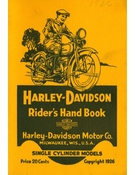 Harley Davidson Riders Hand Book Single Cylinder Models