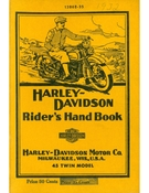 Harley-Davidson Riders Hand Book 45 Twin Model