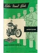 Rider Hand Book Sportster