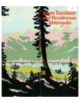 Super Excelsior and Henderson Motorcycles Brochure - 1927