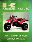 1984 Kawasaki KXT250 All Terrain Vehicle Service Manual