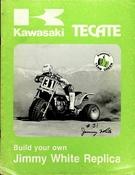 1984-1985 Kawasaki KXT250 Tecate Build Your Own Jimmy White Replica