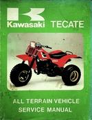 1984-1985 Kawasaki KXT250 Tecate All Terrain Vehicle Service Manual