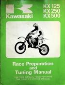 1985 Kawasaki KX125 KX250 KX500 Race Preparation and Tuning Manual