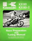 1986 Kawasaki KX80 KX80-II Race Preparation and Tuning Manual
