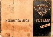 Maico Blizzard 250cc Instruction Book