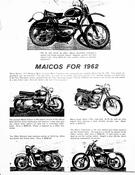 Maicos for 1962