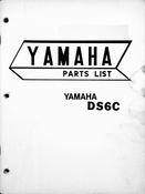 1969-1971 Yamaha DS6C Parts List