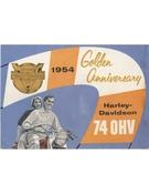 1964 Golden Anniversary Harley-Davidson 74 OHV