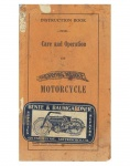 Instruction Book for Care and Operation of the Flying Merkel Motorcycle - 1913